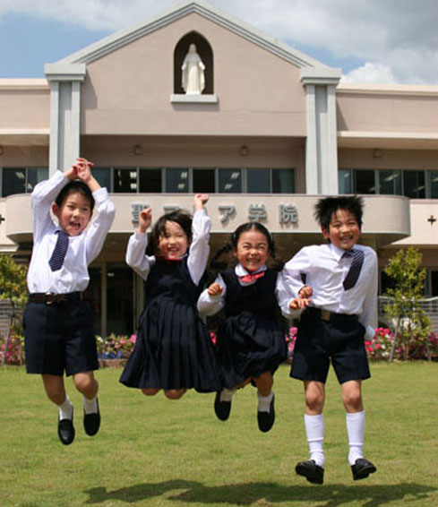 聖マリア学院のHPへようこそ!